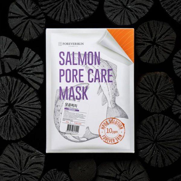 Сужающая поры Лососевая маска Salmon pore care mask от Foreverskin