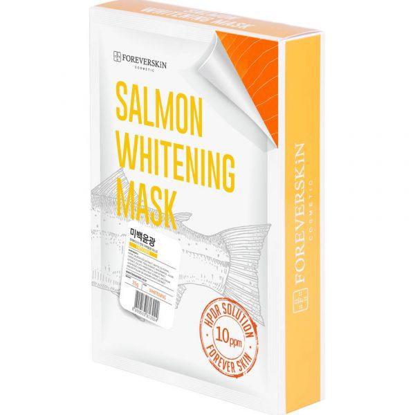 Отбеливающая Лососевая маска Salmon whitening mask от Foreverskin 10шт