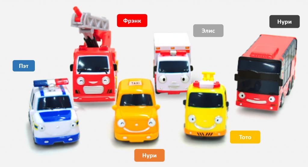 Набор из 6 игрушек
