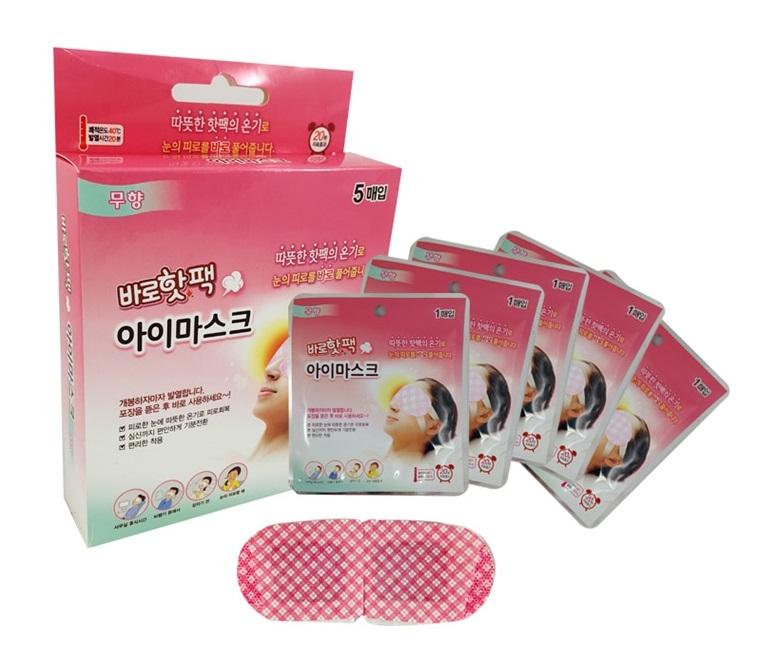 Паровая маска для глаз Hot Pack Eye Mask от Farmtech