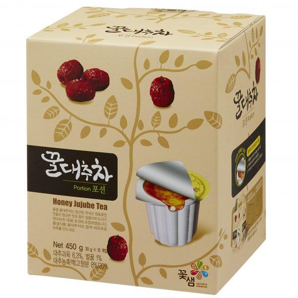 Чай с медом и китайским фиником Honey jujube tea