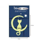 Флуоресцентные стикеры с кошечками от UkiUki (set1)