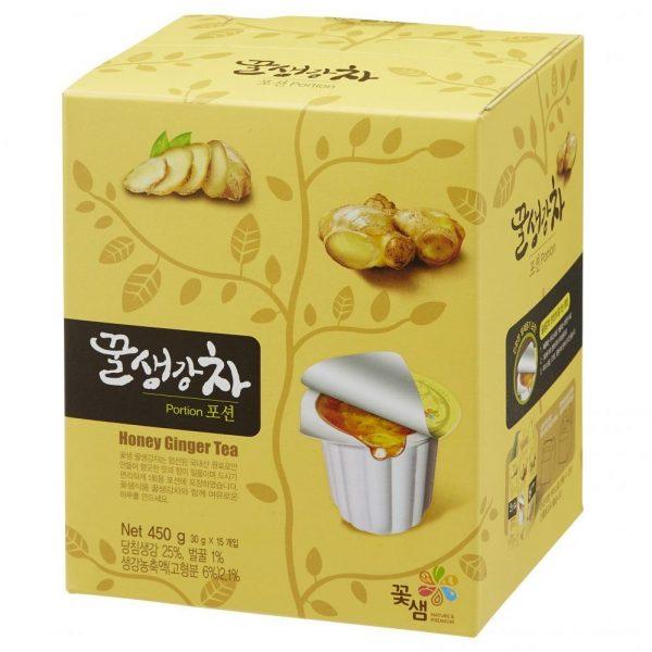 Медово-имбирный чай Honey ginger tea
