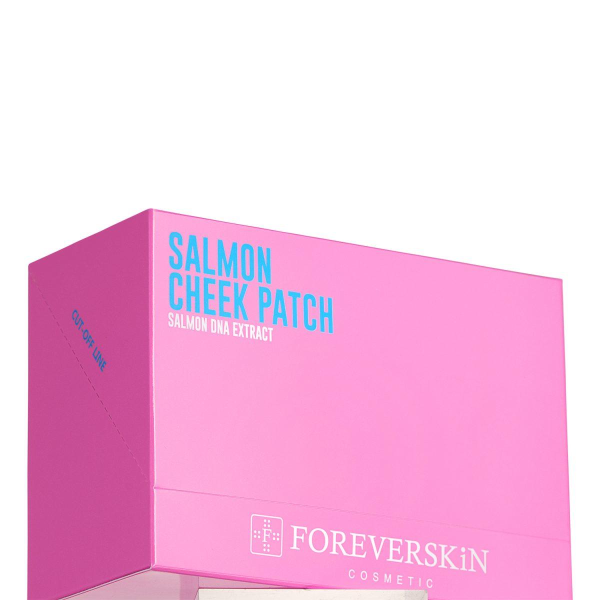 Патчи для щек Salmon cheek patch от Foreverskin 10шт