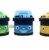 Маленький автобус Тайо - Тайо, Роги, Лэни, Гани и Сито. Набор из 5-и игрушек.