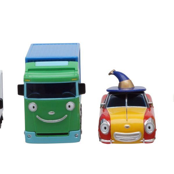 Тайо маленький автобус - Буба, Тони, Биг и Люси. Набор из 4-х игрушек.