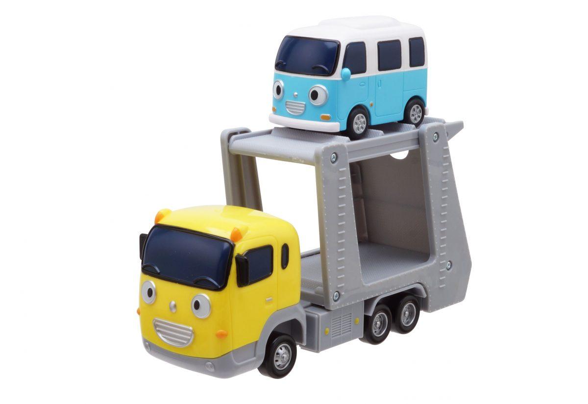 Маленький автобус Тайо - Керри и Бонг Бонг.