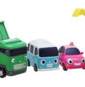 Тайо маленький автобус - Поко, Макс, Бонг Бонг и Харт. Набор из 4-х игрушек.