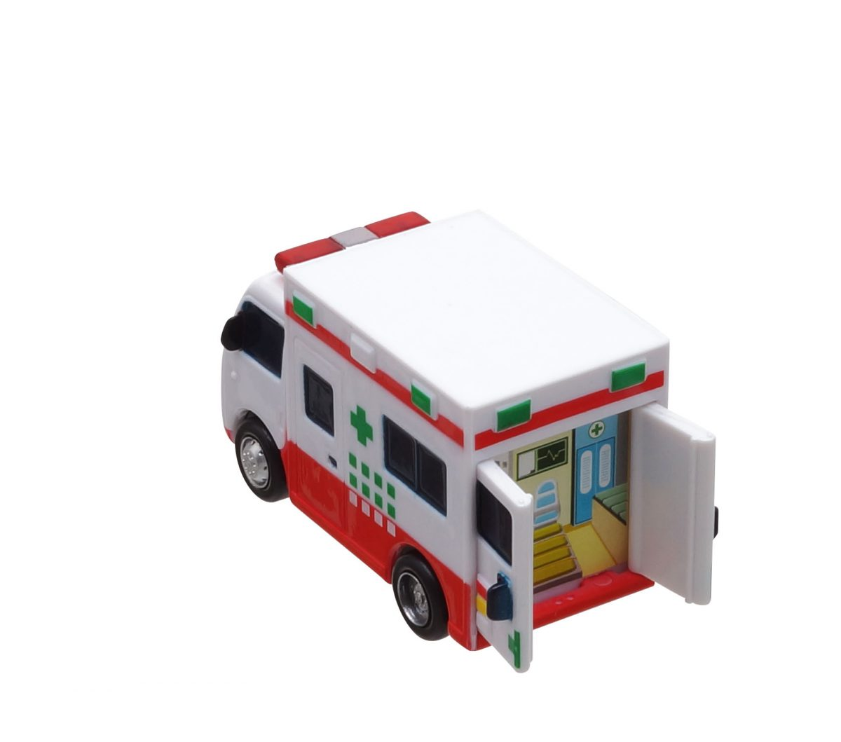 Маленький автобус Тайо - Тото, Сито, Элис, Фрэнк, Пэт и Нури. Набор из 6-и игрушек.