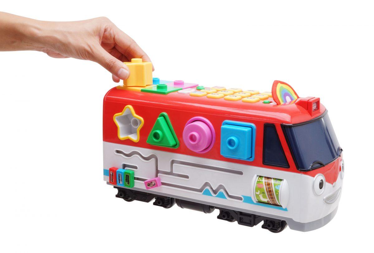 Говорящий Поезд Титипо - игрушечный поезд, проигрывающий мелодии, фразы, цифры