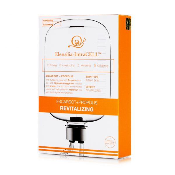 Обновляющая маска с экстрактом улитки и прополисом Elensilia-IntraCELL REVITALIZING