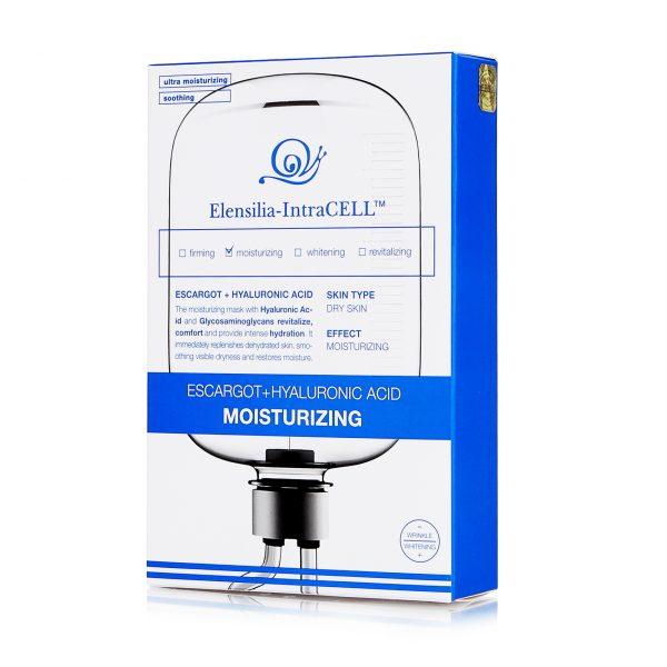 Увлажняющая маска с экстрактом улитки и гиалуроновой кислотой Elensilia-IntraCELL MOISTURIZING