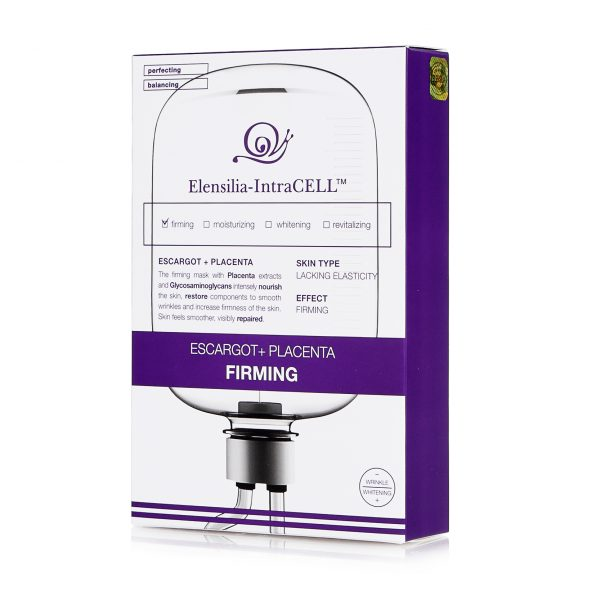 Укрепляющая маска с экстрактом улитки и плацентой Elensilia-IntraCELL FIRMING