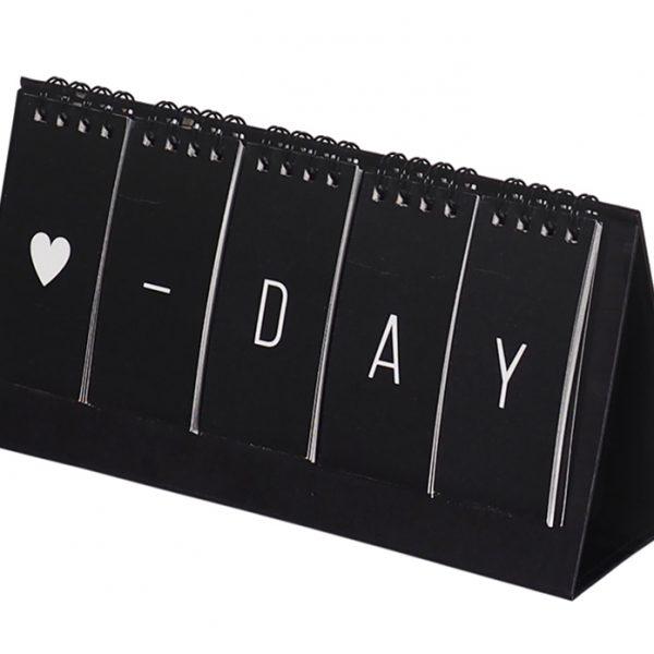 Вечный настольный календарь D-DAY