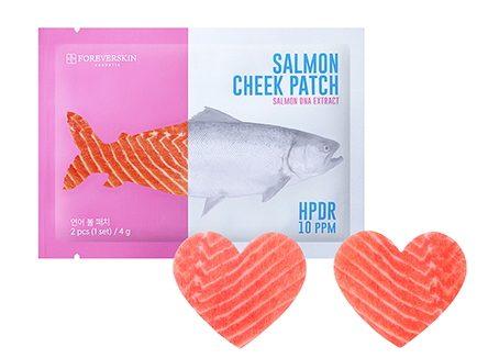 Патчи для щек Salmon cheek patch от Foreverskin
