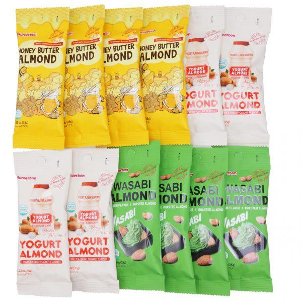 Набор Миндаля трех вкусов Murgerbon Almond