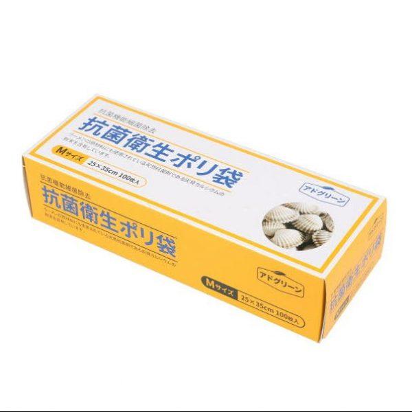 Антибактериальный полиэтиленовый пакет AddGreen