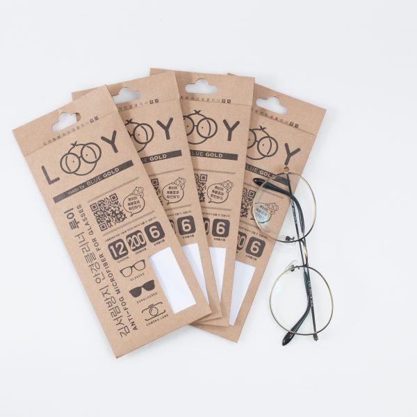 Многоразовая чистящая салфетка для очков Anti-Fog LOOY