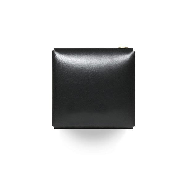 Кожаный чехол для презервативов ручной работы Wharf (черный)