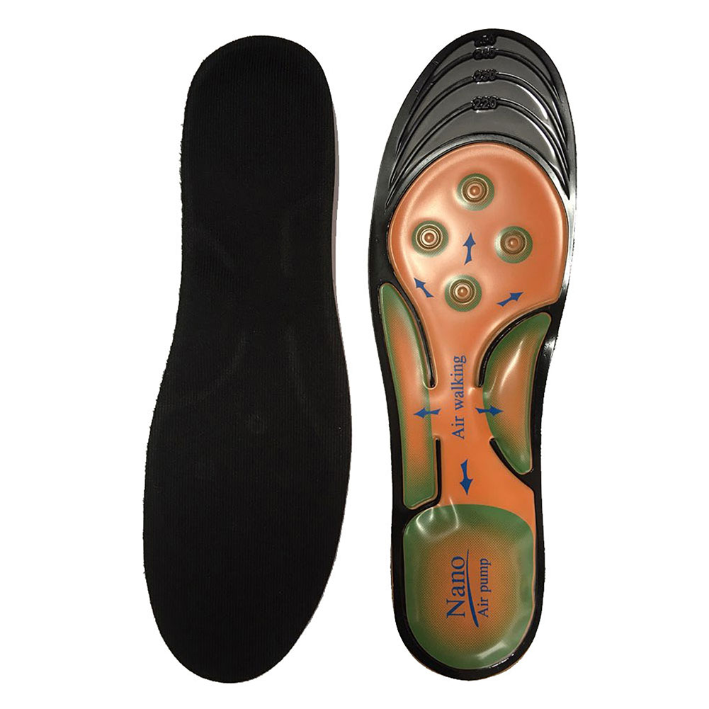 Ортопедические спортивные стельки AIR WALKING PUMP (женские)