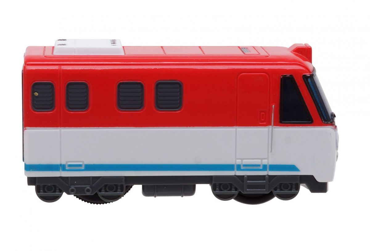 Титипо и друзья. Набор из 3 игрушечных поездов