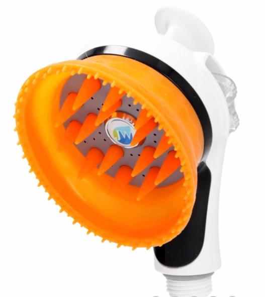 Массажная силиконовая насадка для душа Healing shower head