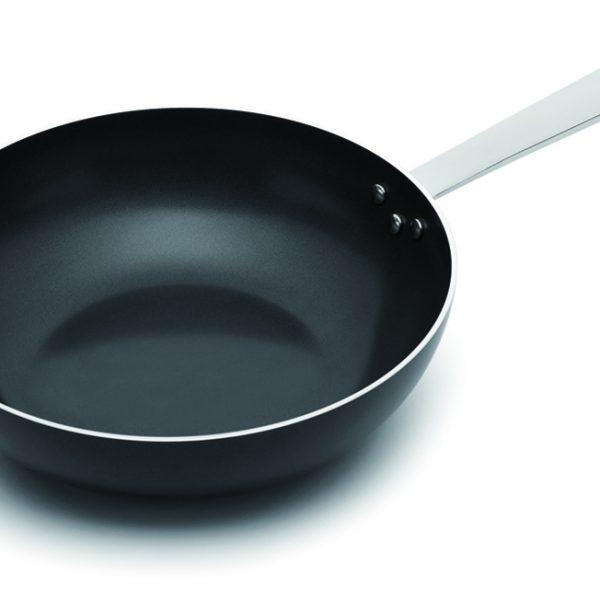 сковорода-вок с антипригарным покрытием
