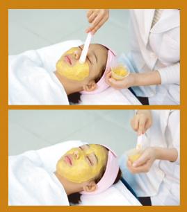 Золотая маска премиум-класса Gold Capsule Mask