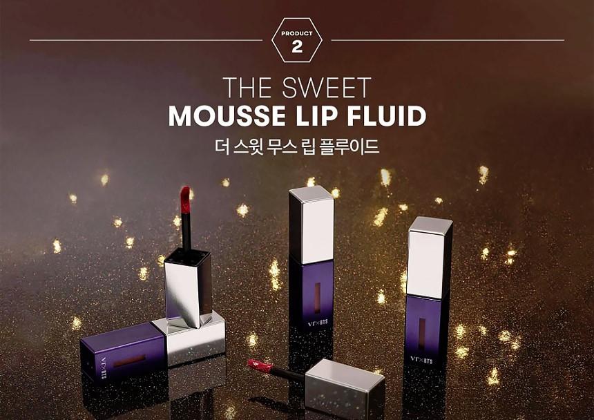 The sweet mousse lip fluid