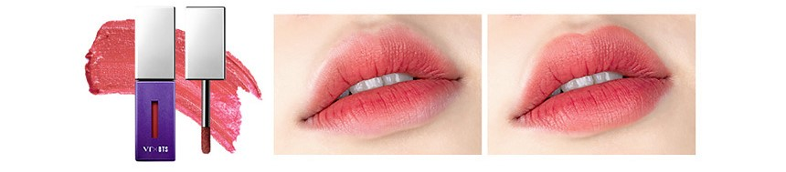 The sweet mousse lip fluid #02 Rosy peach