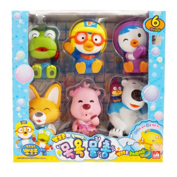 Пороро Набор игрушек для ванной