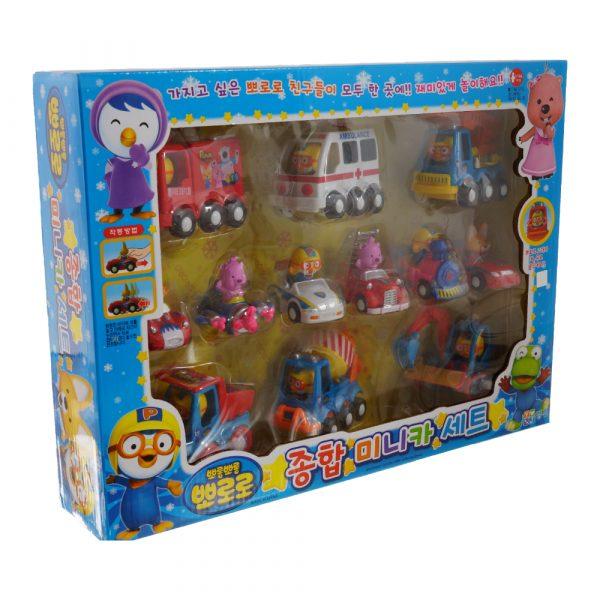 Пороро набор из 12 игрушек