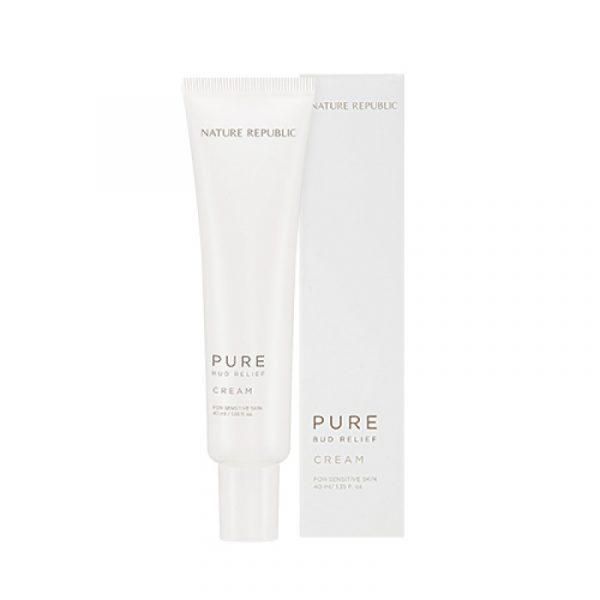 Успокаивающий крем для лица NATURE REPUBLIC Pure Bud Relief Cream