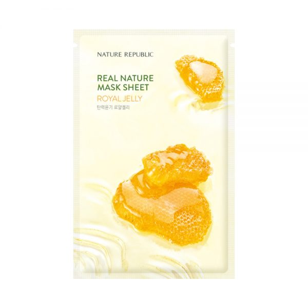 NATURE REPUBLIC Real Nature Mask Sheet royal jelly
