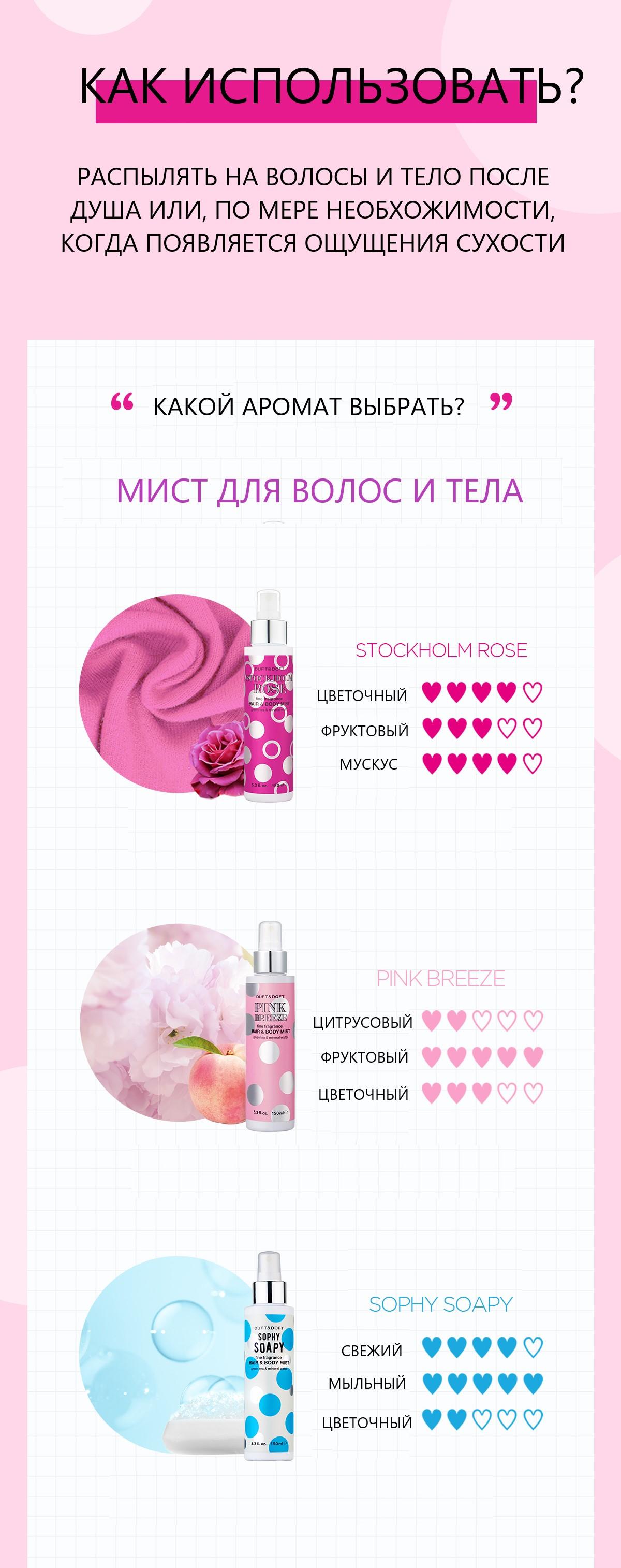 «Stockholm rose» DUFT&DOFT 3