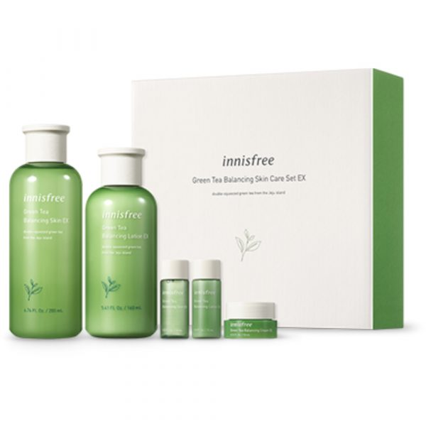 Балансирующий набор innisfree Green Tea Balancing Special Skin Care Set