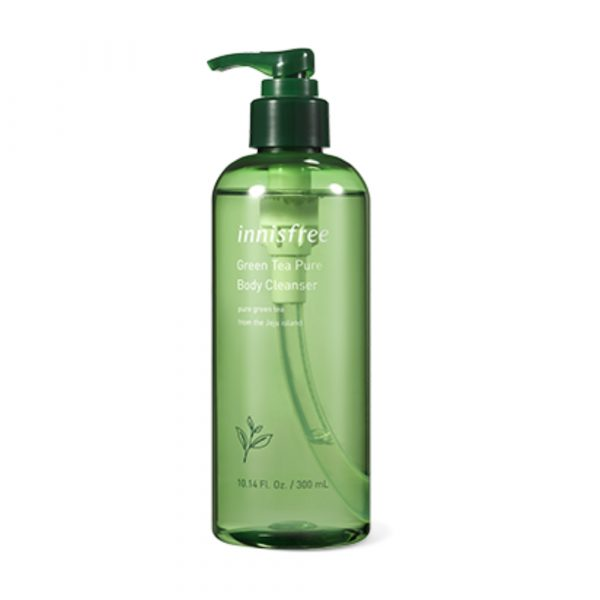 Гель для душа innisfree Green tea pure body cleanser