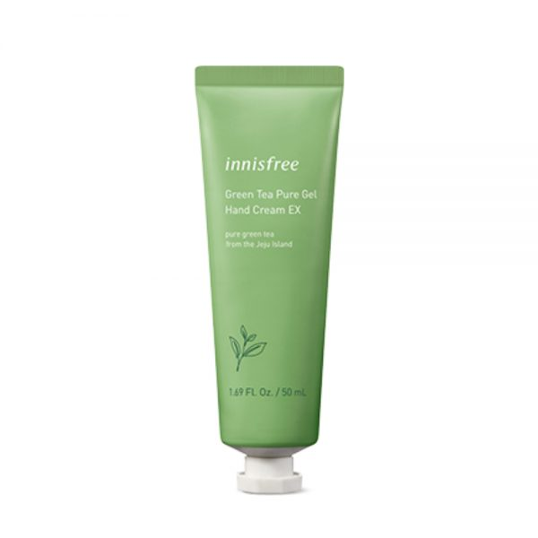 Крем-гель для рук innisfree Green tea pure gel hand cream