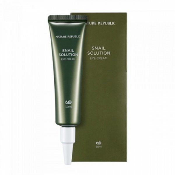 Крем для век NATURE REPUBLIC SNAIL SOLUTION EYE CREAM