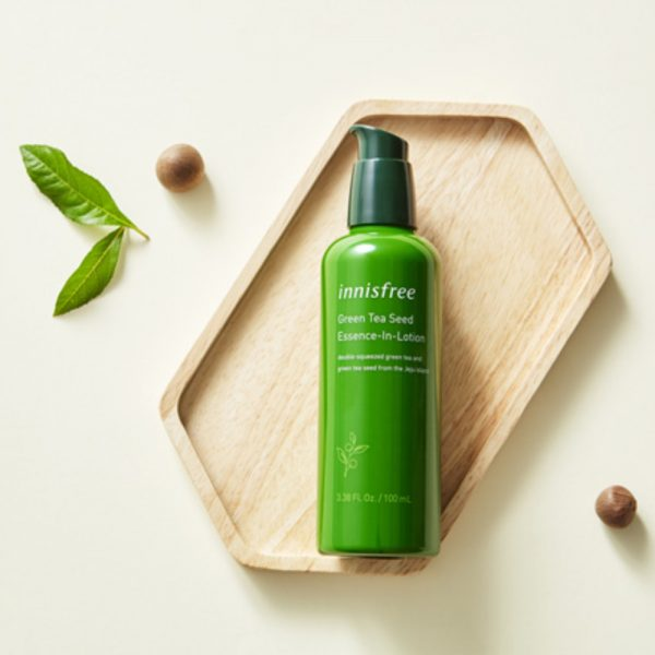 Лосьон-эссенция innisfree Green tea seed essence-in-lotion