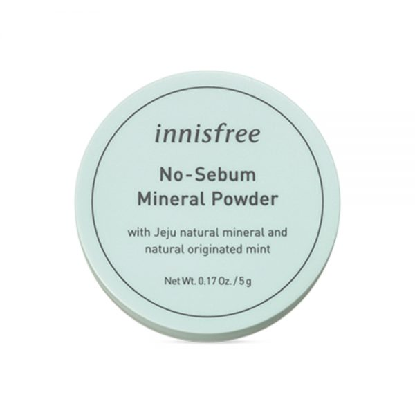 Минеральная рассыпчатая пудра innisfree No sebum mineral powder