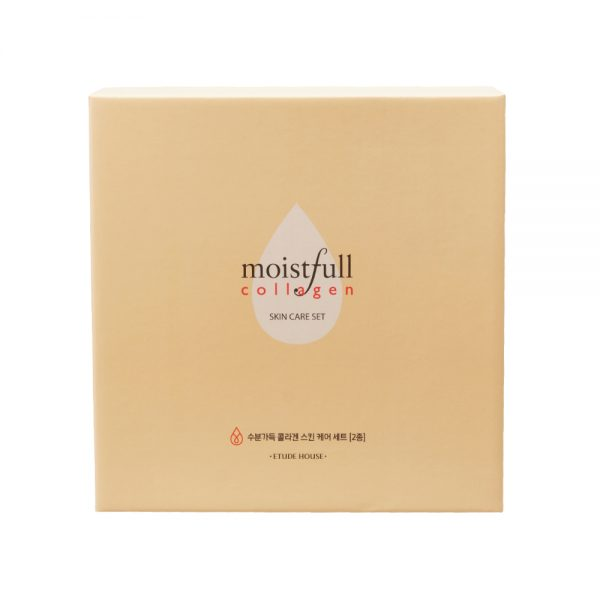 Набор косметических средств c коллагеном Etude House Moistfull collagen skin care set