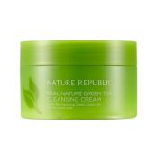 Очищающий крем NATURE REPUBLIC REAL NATURE Green tea