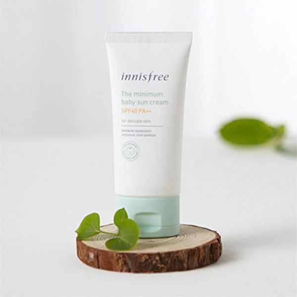 Солнцезащитный крем innisfree The minimum baby suncream SPF40 PA++
