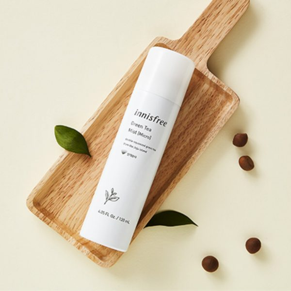 Спрей innisfree Green tea mist [Micro] 120 мл