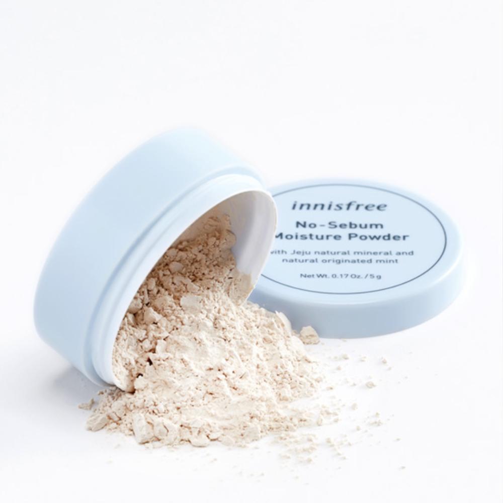 Увлажняющая матирующая пудра innisfree No sebum moisture powder