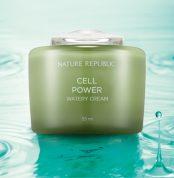 Увлажняющий крем для ухода за увядающей кожей NATURE REPUBLIC CELL POWER WATERY CREAM