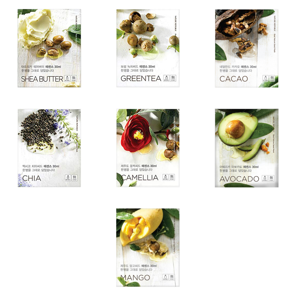 NATURE REPUBLIC Real Nature Seed Mask