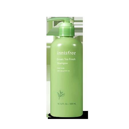 innisfree Green tea fresh shampoo