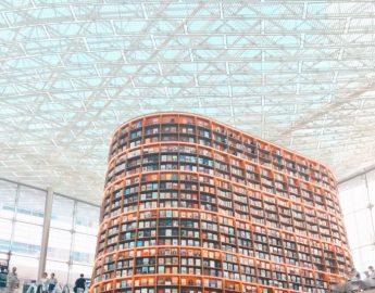 Библиотека Starfield в Сеуле (COEX)